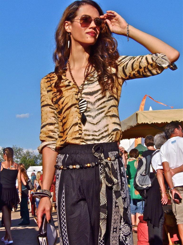 Tiger Print Blouse Zara Theflamboyante