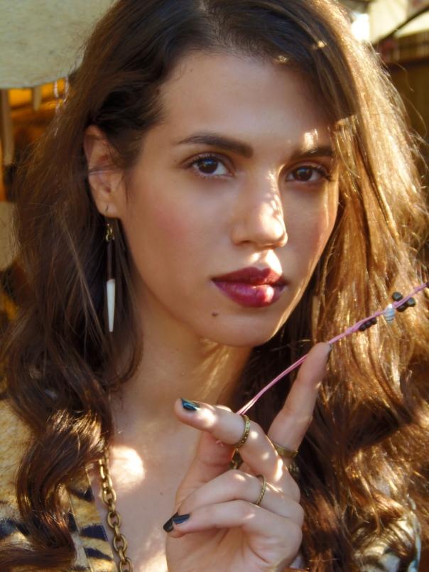 model Nadine Salem